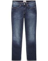 Acne Studios Max Slim Fit Jeans - Lyst