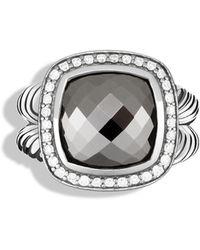 David Yurman Albion Ring With Hematine - Black