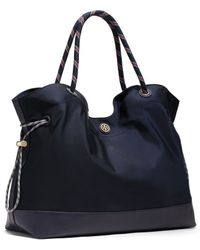 Tory Burch Nylon Cinched Tote - Lyst