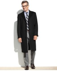 Izod - Prospect Wool-blend Overcoat - Lyst