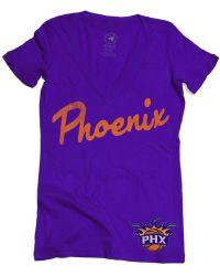 Sportiqe - Women's Short-sleeve Phoenix Suns V-neck T-shirt - Lyst