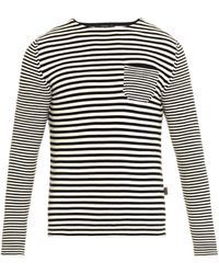 Gucci Striped Cotton Sweater - Lyst