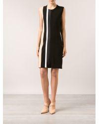 Narciso Rodriguez Sheath Stripe Dress - Lyst