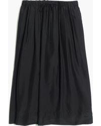 Madewell Silk Sunset Skirt - Lyst