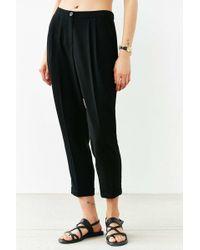 Cooperative Black Slim-fit Trouser Pant