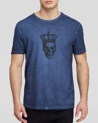 John Varvatos Usa Crown Skull Tee - Lyst