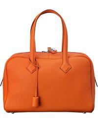 Hermès Orange Victoria Ii - Lyst