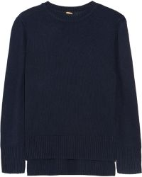 Adam Lippes Silk and Cashmere-blend Sweater - Lyst