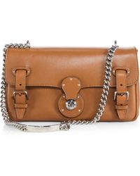 Ralph Lauren Collection Ricky Chain Shoulder Bag - Lyst