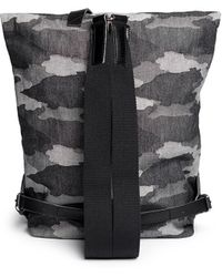 Seventy Eight Percent - 'jurgen' Camouflage Canvas Backpack - Lyst