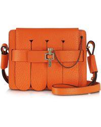 Carven Orange Small Malher Fringe Bag - Lyst