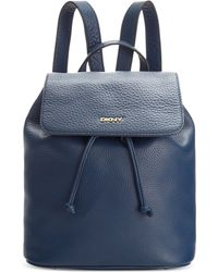 DKNY Tribeca Backpack blue - Lyst