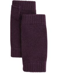 Brora - Ribbed Cashmere Wrist Warmers - Lyst