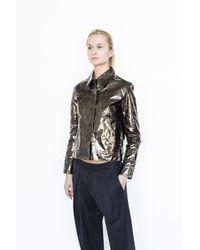 Kahle | Metallic Jacket | Lyst