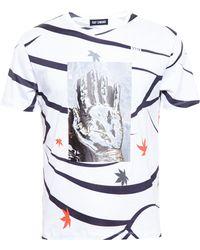Raf Simons Hand Print T-Shirt - Lyst