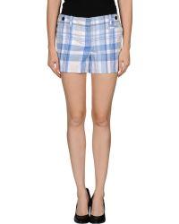 Tommy Hilfiger Blue Shorts - Lyst