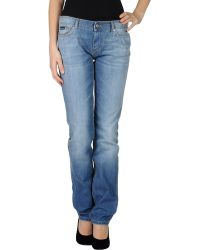 D&G Straight-Leg Denim Trousers - Lyst