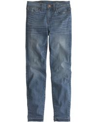 J.Crew Tall Lookout High-Rise Crop Jean With Let-Out Hem In Hayton Wash - Lyst