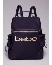 Bebe - Lana Logo Backpack - Lyst