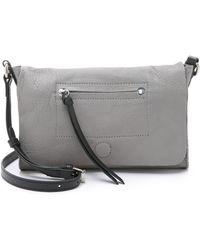 Linea Pelle - Hunter Cross Body Bag - Black - Lyst