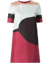 Marni Abstract Print Dress - Lyst