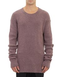 Haider Ackermann Oversized Pullover Sweater - Lyst