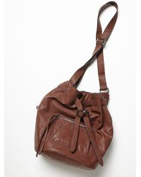 Free People Rogue Bucket Bag - Lyst