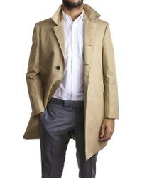 Thom Browne   Classic Khaki Overcoat   Lyst