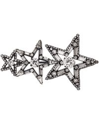 Erickson Beamon - Star Search Embellished Brooch - Lyst
