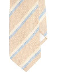 Petronius - Diagonal Stripe Knit Neck Tie - Lyst