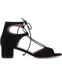 Tabitha Simmons | Lace-Up Leather Sandals | Lyst