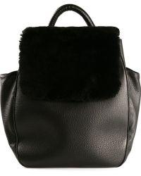 Perrin Paris Flap Backpack - Lyst