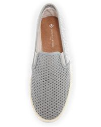 Jacques Levine - Leucate Woven Slip-On Loafer - Lyst
