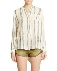 Free People Shibori Magie Printed Pullover - Lyst