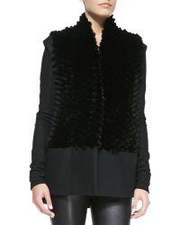 Helmut Lang Crinkled Jersey Hood Jacket - Lyst