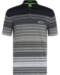 BOSS Green - Regular-fit Polo Shirt In Cotton Blend: 'paddy Pro 1' - Lyst