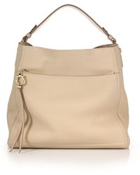Ferragamo | Amy Leather Hobo Bag | Lyst