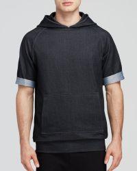 Zanerobe Mvp Short Sleeve Hooded Sweatshirt - Lyst