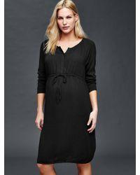 Gap | Henley Shirtdress | Lyst