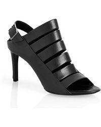 Balenciaga Strappy Sandal black - Lyst