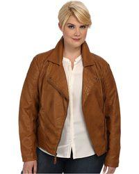 Jessica Simpson Plus Size Jofwu691 Jacket - Lyst