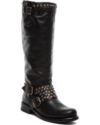 Frye Jenna Studded Tall Boot - Lyst