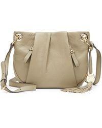 Vince Camuto Cris Leather Crossbody Bag - Lyst
