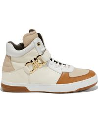 Ferragamo High Top Sneaker - Lyst