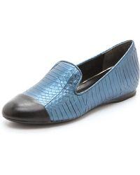 Boutique 9 - Yaasuo Cap Toe Loafers - Black/black - Lyst