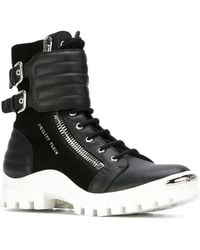 Philipp Plein | Lace-Up Boots | Lyst