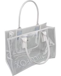 Wildfox - Top-Handle PVC Tote - Lyst