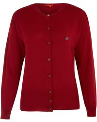 Vivienne Westwood Red Label - Red Classic Wool Cardi - Lyst