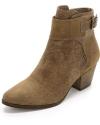 Free People - Belleville Ankle Boots - Lyst