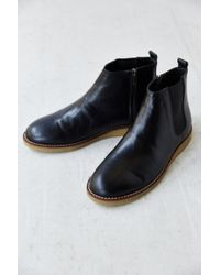 Urban Outfitters Hawkings Mcgill Leather Chelsea Side-zip Boot - Lyst